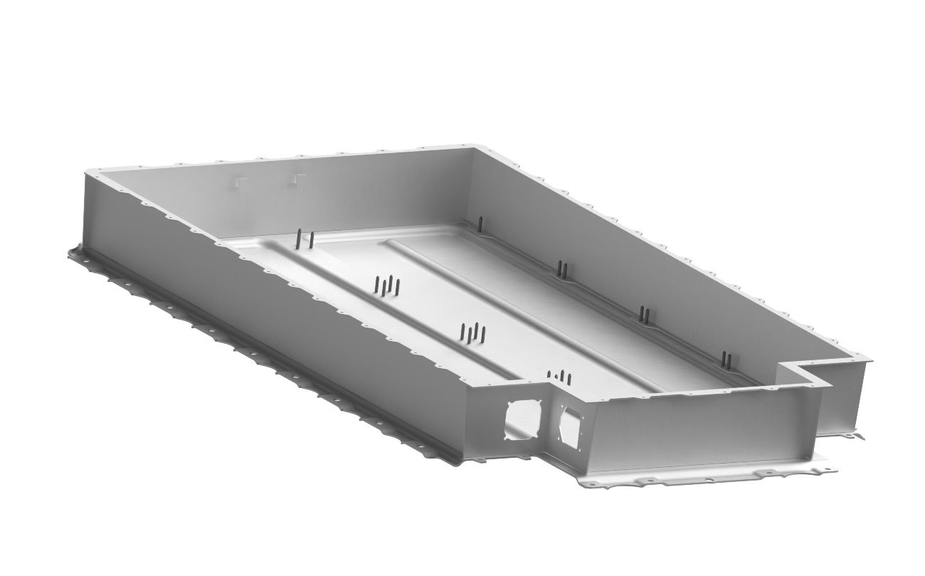 Mapvision provides the tools for battery tray inspection.